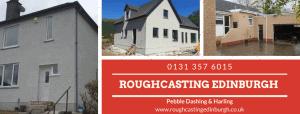 roughcasting Edinburgh cover